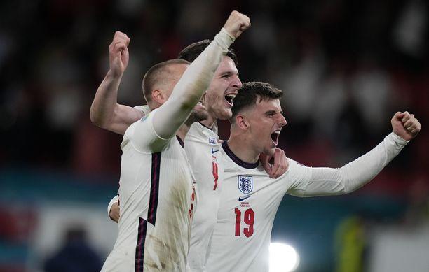Englanti pelaa sunnuntai-iltana historiansa ensimmäisen EM-finaalin.