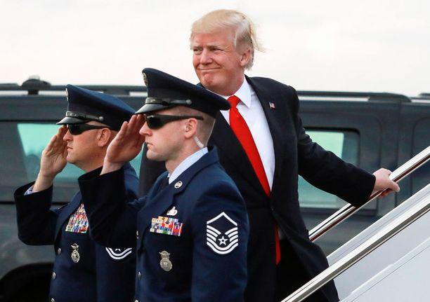 Trumpin suosio on  korkeimmalla tasolla sitten kesäkuun.