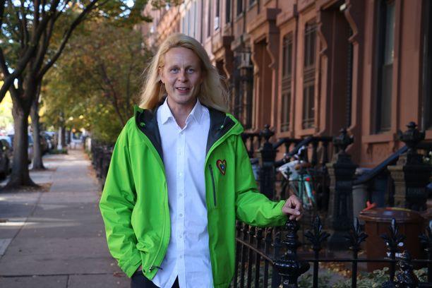 Leiki Oy:n toimitusjohtaja ja perustaja Petrus Pennanen kuvattuna New Yorkissa vuonna 2015.