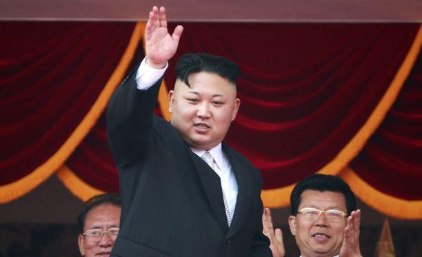 Kim Jong-un huhtikuussa 2017.