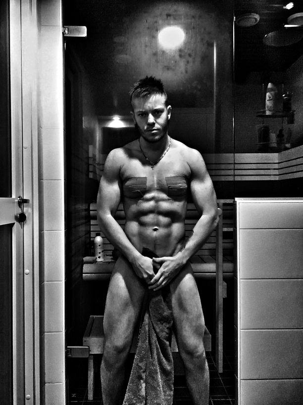 Salilla viihtyvä Saloranta on huomannut testosteronin vaikutuksen voimatasoissaan.