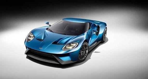 Ford GT lipuu Suomeen ensi vuonna - kännykkäkamerat valmiiksi, kuka auton sitten bongaakin.