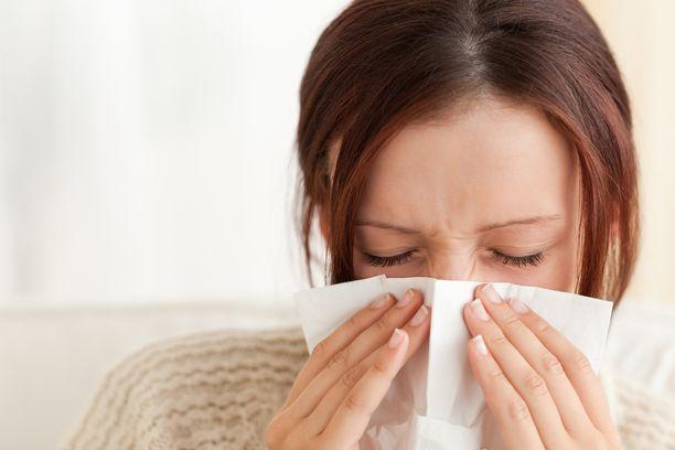Hypertermisen reaktion avulla, taudinaiheuttaja ei pääse välttämättä aiheuttamaan voimakkaampia vilustumisen oireita.