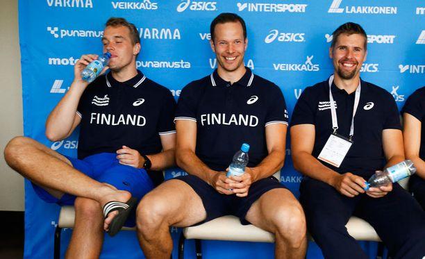 Ari Mannio oli Suomen kolmas keihäsmies EM-Amsterdamissa, mutta kuka pääsee Rioon Tero Pitkämäen ja Antti Ruuskasen seuraksi?