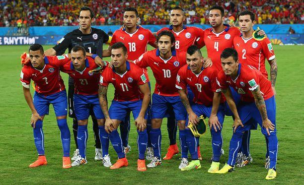 Chilen joukkue on yksi MM-kisojen väriläiskistä.