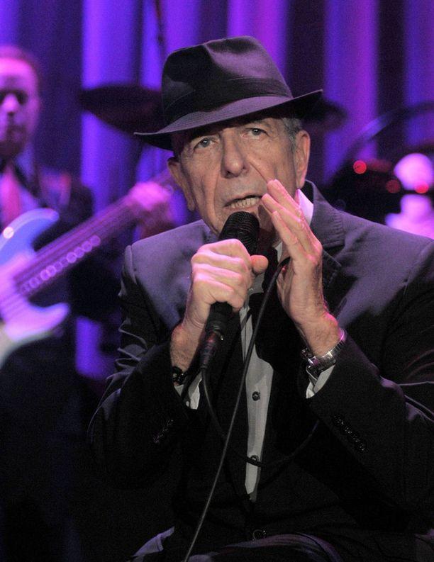 Leonard Cohenin tuorein levy julkaistiin tammikuussa.