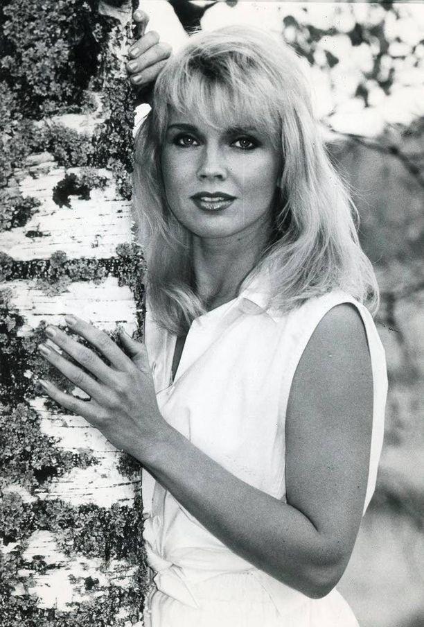 Johanna Raunio herätti rikkaan sheikin huomion 1980-luvulla. Kuva vuodelta 1987.