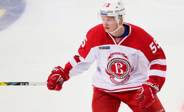 Miro Aaltonen on tehnyt jo 12 maalia KHL:ssä.