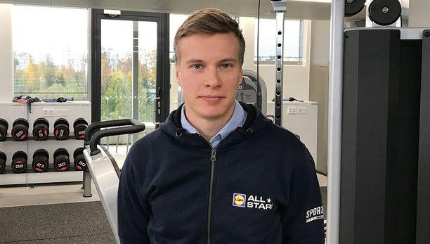 Matti Heikkinen vieraili Lidl All Stars -tiimin mitalikahveilla.