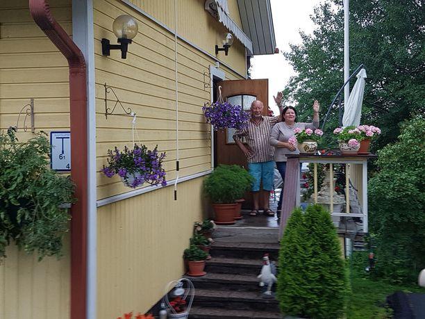 Sirkku ja Timo ovat asuneet 28 vuotta Tampereen Messukylän ja Hakametsän alueella.