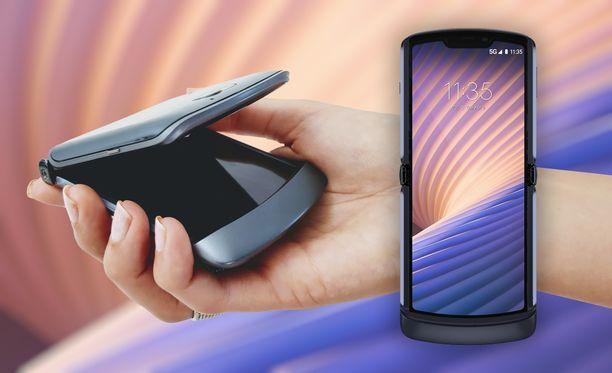 Motorola on päivittänyt taittuvan puhelimensa 5G-yhteensopivaksi.