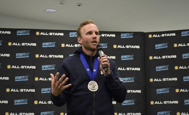 Mika Poutala sai viimeisellä kaudellaan kaulaansa vihdoin EM-mitalit.