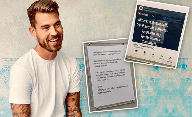 Rap-artisti Jyrise käänsi negatiivisen palautteensa positiiviseksi tekemällä aiheesta kappaleen.