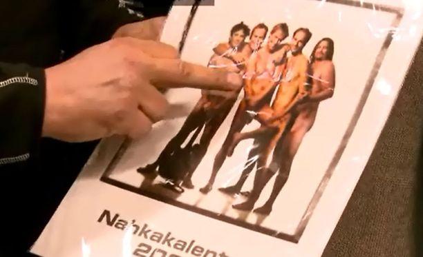 Eppu Normaali julkaisi alastonkalenterinsa vuonna 2007.