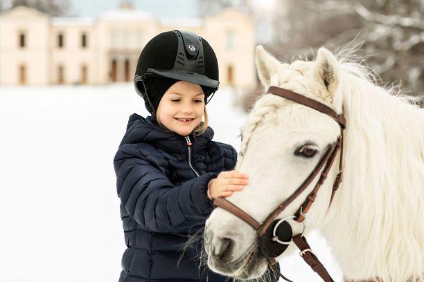 Prinsessa Estellellä on oma poni, Victor.