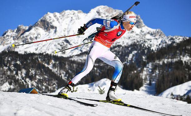 Kaisa Mäkäräisen urakka Hochfilzenin MM-kisoissa on nyt ohi.