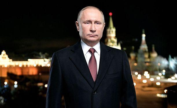 Vladimir Putin piti perinteisen uudenvuodenpuheensa sunnuntai-iltana.