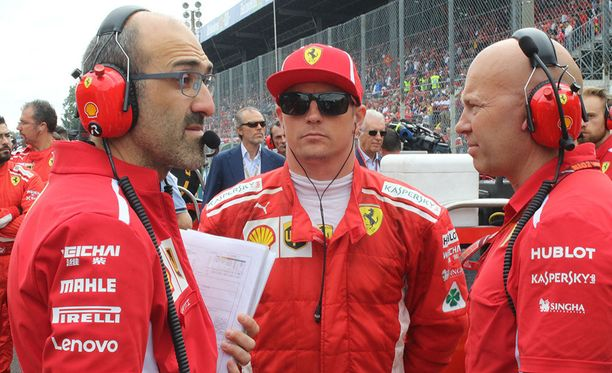 Kimi Räikkösen Ferrari-ura uhkaa päättyä tähän kauteen.