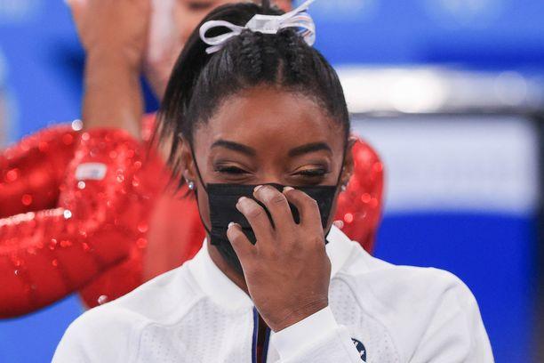 Simone Biles on ollut urheilumaailman huomion keskipisteenä.