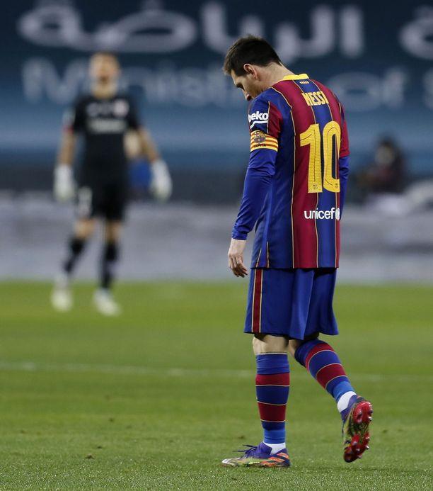 Lionel Messillä keitti yli, kun Athletic nousi voittoon supercup-trillerissä.