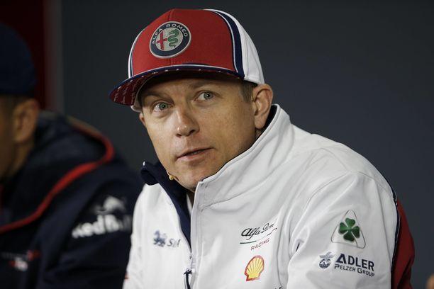 Kimi Räikkönen muisteli lapsuuttaan Kiinan GP:n lehdistötilaisuudessa.