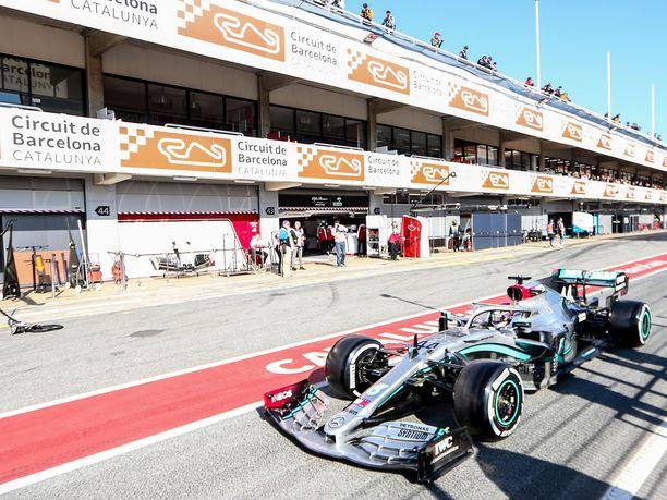 F1-radat ovat jatkossa valmiina laittamaan sairastuneet karanteeniin.
