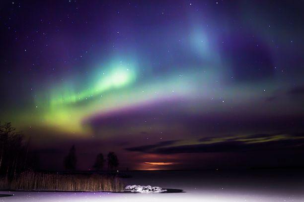 Joulupäivän näkymiä Petolahdesta Pohjanmaalta. Luulisi tämän kuvan käyvän jopa pienestä turistimagneetista?