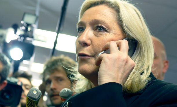 Kansallisen rintaman johtaja Marine Le Pen elättelee toiveita noususta Ranskan presidentiksi.