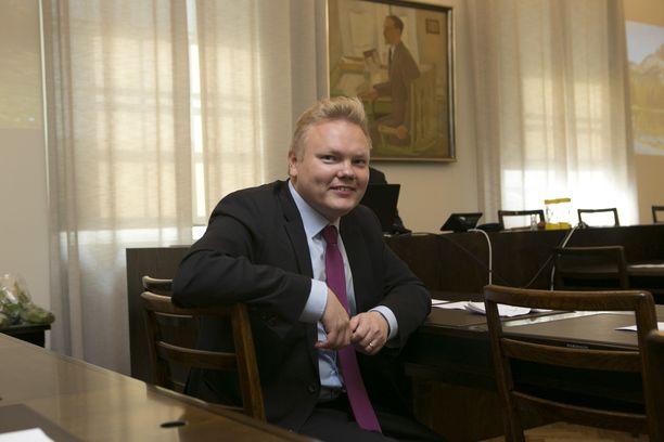 Kansanedustaja Antti Kurvinen.