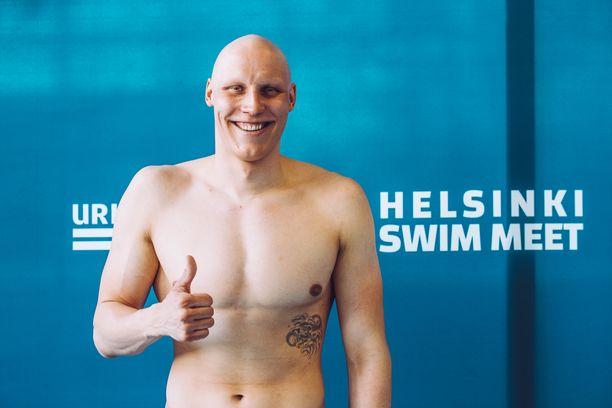 Matti Mattsson lähtee olympia-altaaseen huippukunnossa.