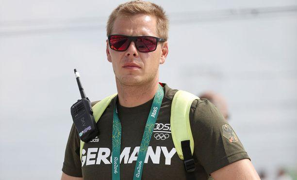Stefan Henze päiviä ennen kuolemaansa Rion olympialaisissa.
