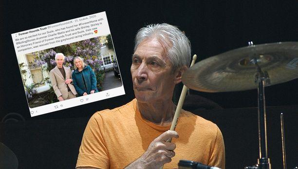 Charlie Watts teki pitkän uran The Rolling Stonesin rumpalina.