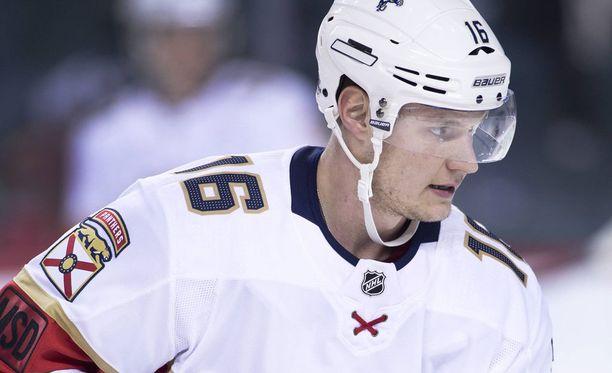 Aleksander Barkov on joukkueensa tämän kauden tehokkain pelaaja.