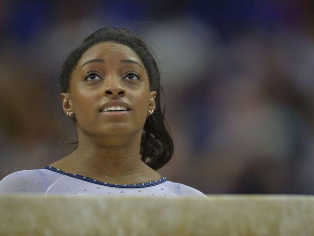 Simone Bilesiä pidetään yhtenä maailman parhaista voimistelijoista.