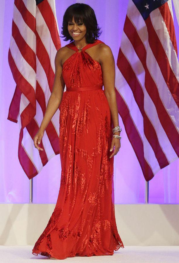 Michelle edusti tyrmäävänä.
