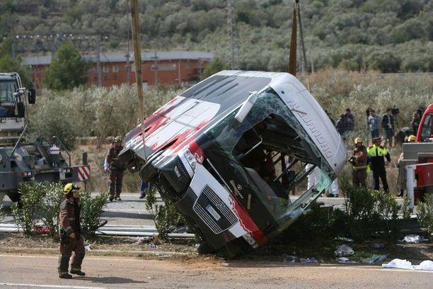Maaliskuussa tapahtuneessa bussionnettomuudessa kuoli 13 ihmistä.