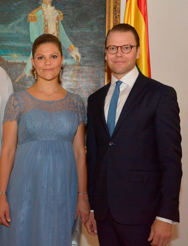 Ruotsin kruununprinsessa Victorialle ja prinssi Daniel edustivat yhdessä Kolumbiassa.