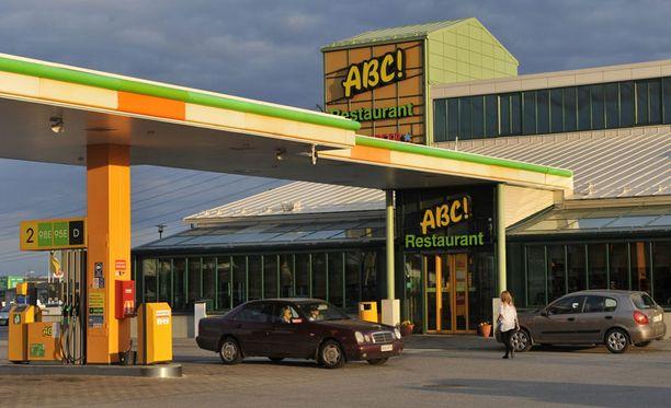ABC-ketju on vahvasti edustettuna kalleimpien bensa-asemien listalla.