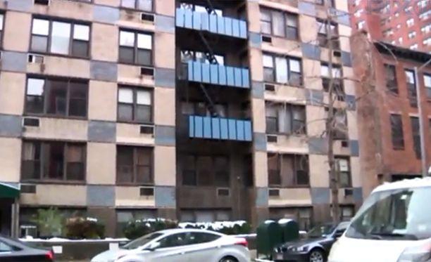 Manhattanin east sidella olevassa talossa on kuusi kerrosta.