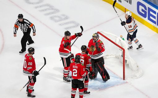 Chicago Blackhawks jatkoon – Edmonton Oilers ja Connor McDavid lomille