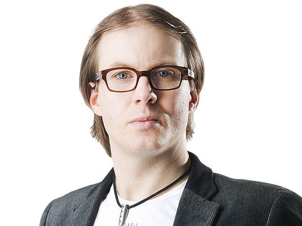 Toimittaja Lauri Nurmi.