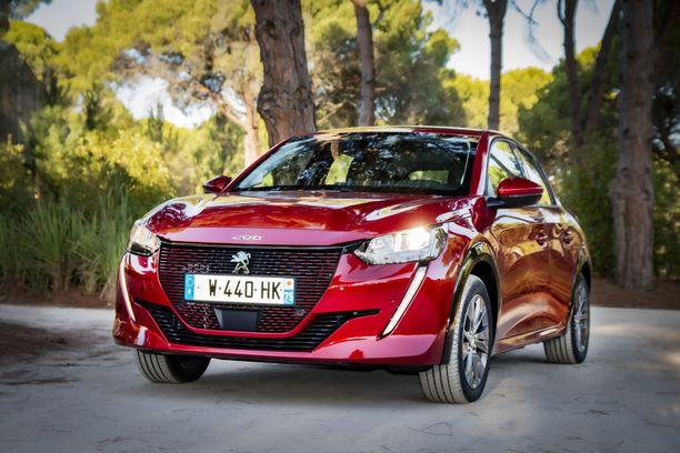 e-208 on Peugeotin uusi sähköauto.