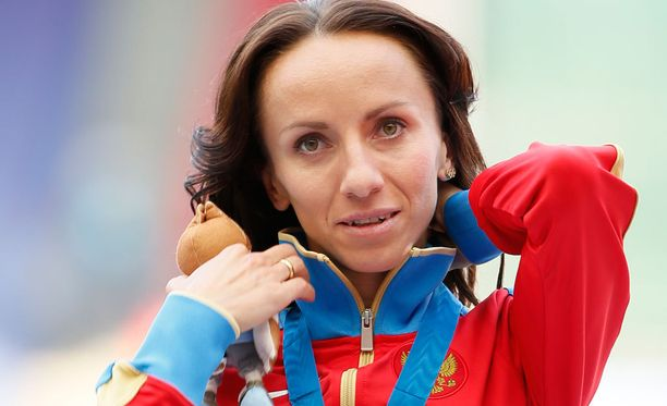 Maria Savinova menettää arvokisamitaleita.