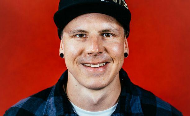 Matti Suur-Hamari on kaksinkertainen paracrossin maailmanmestari.