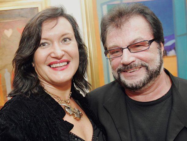 Leila ja Juhani Palmun uusi tukikohta on Lapissa.