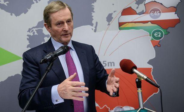 Pääministeri Enda Kenny, Irlanti.
