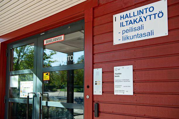 Kuollut poika oli Tiistilän koulun kahdeksannella luokalla.