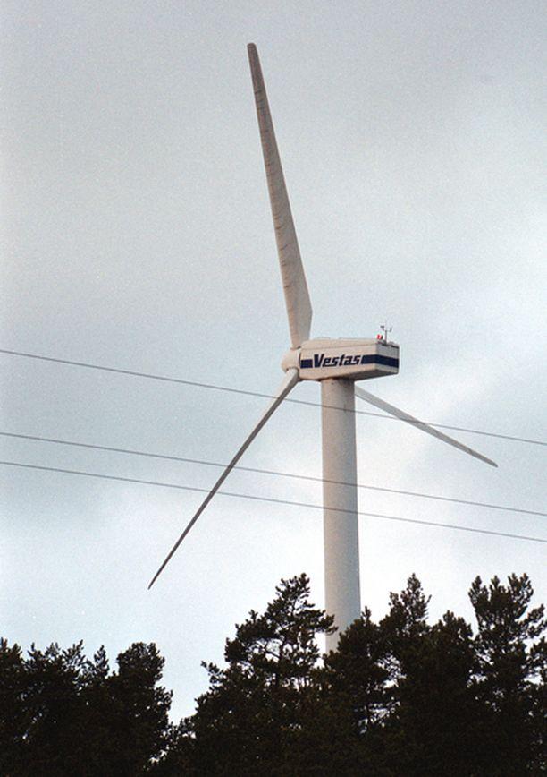 Perämeren matalikolle sijoitettaisiin 162 tuulimyllyä.