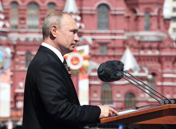 Venäjän presidentti Vladimir Putin voi halutessaan jatkaa presidenttinä vuoteen 2036 asti.