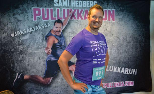 Sami Hedberg onnistui laihdutustavoitteessaan.